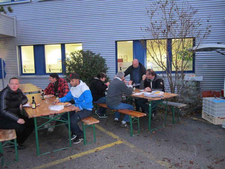 Pizzaplausch in Freienbach: 25.09.2015 / 13.11.2015