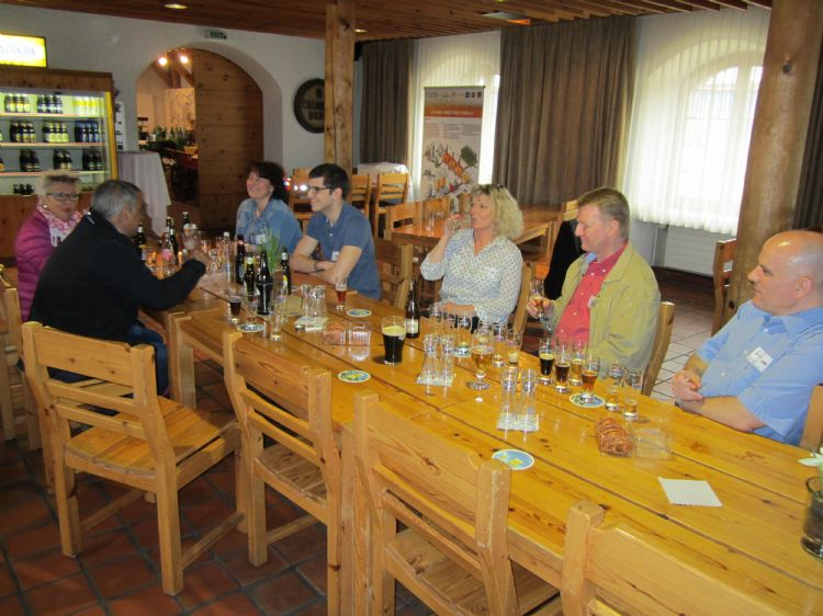 Besuch Calanda Brauerei Chur: vom 5. April 2016