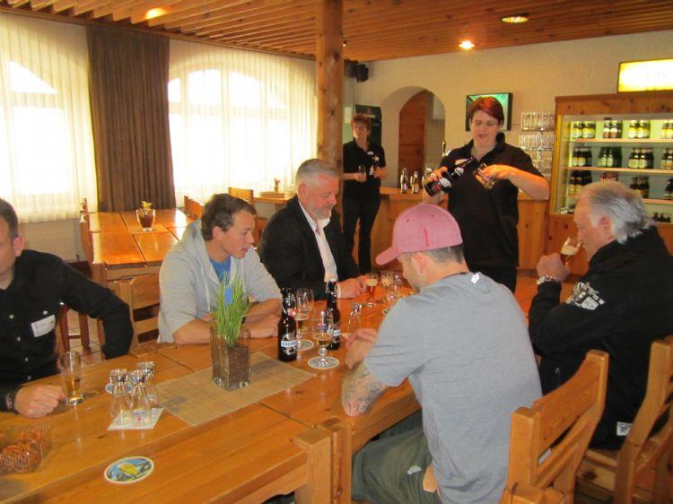 Besuch Calanda Brauerei in Chur: vom 13. April 2016