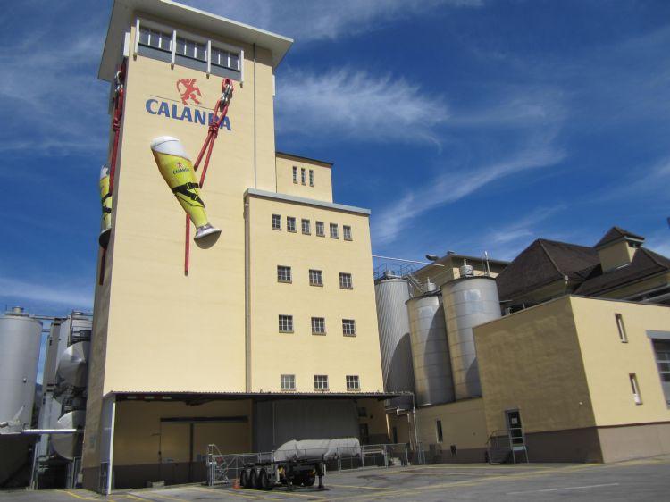 Besuch Calanda Brauerei: vom 21. April 2016