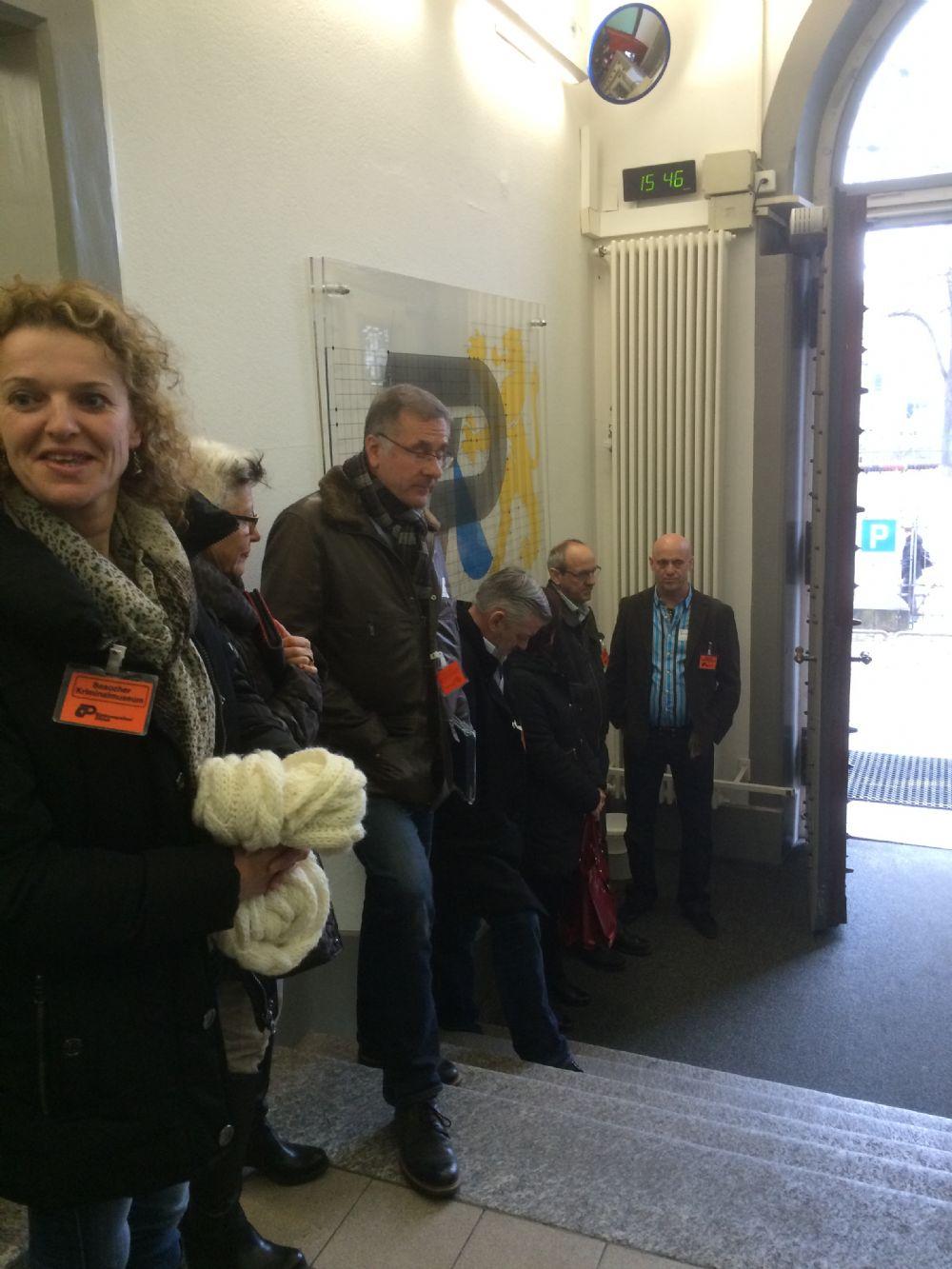 Besuch Kriminalmuseum Zürich: vom 18.02.2015