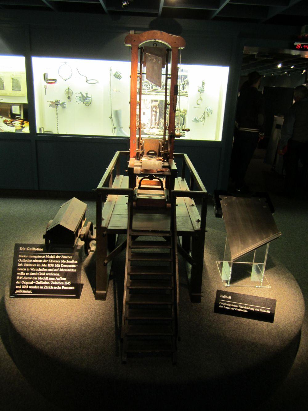 Besuch im Kriminalmuseum: vom 10.02.2015