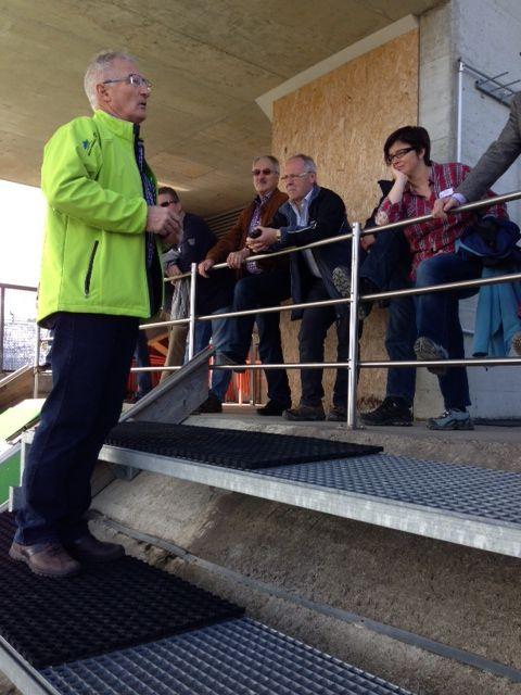 Besuch der Schanzen Einsiedeln: vom 18. März 2014