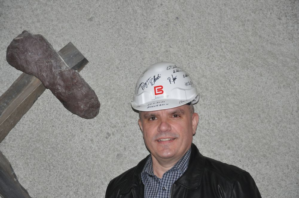 Besuch Versuchs-Stollen Hagerbach: vom 24. April 2013
