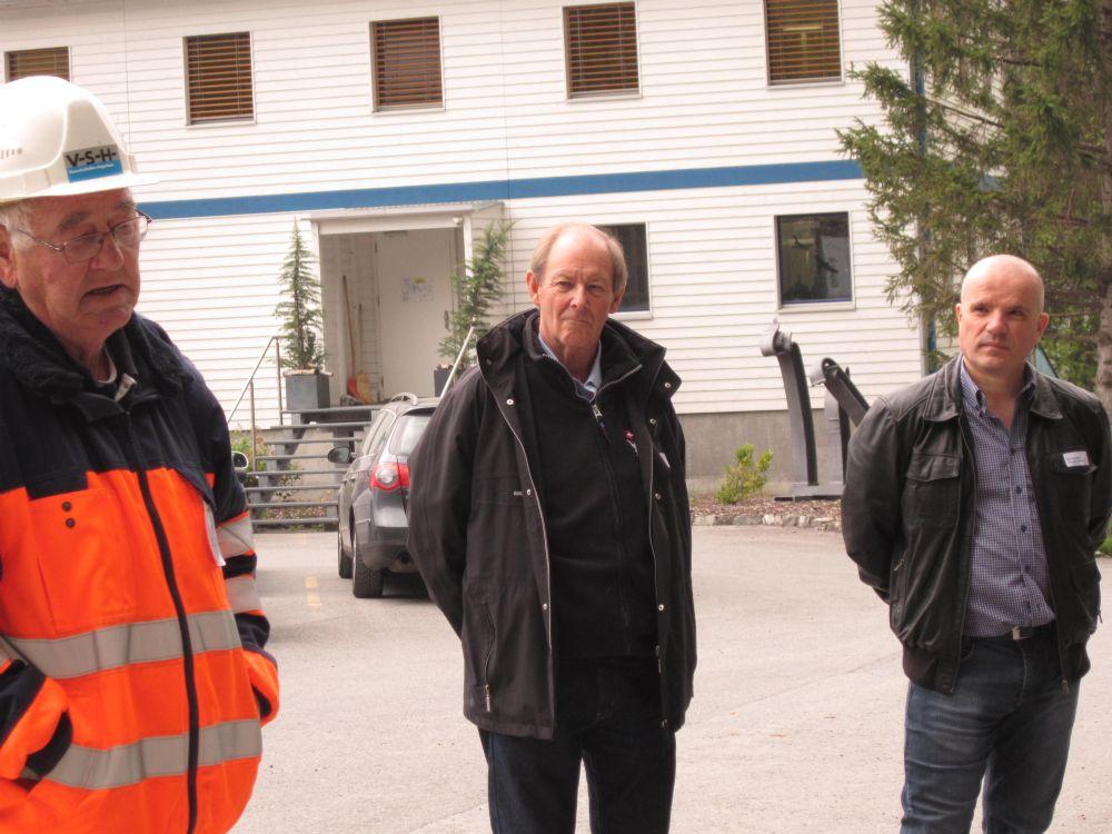 Besuch VersuchsStollen Hagerbach: vom 30. April 2013