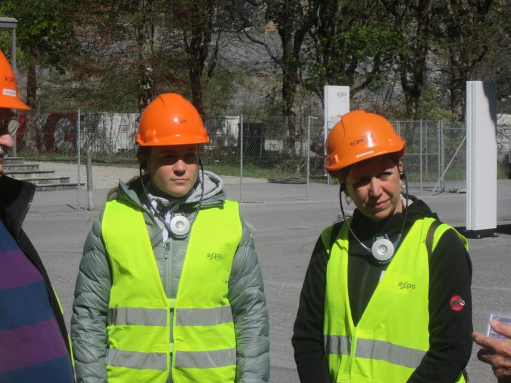 Besuch Baustelle Linth-Limmern vom: 10. Mai 2017