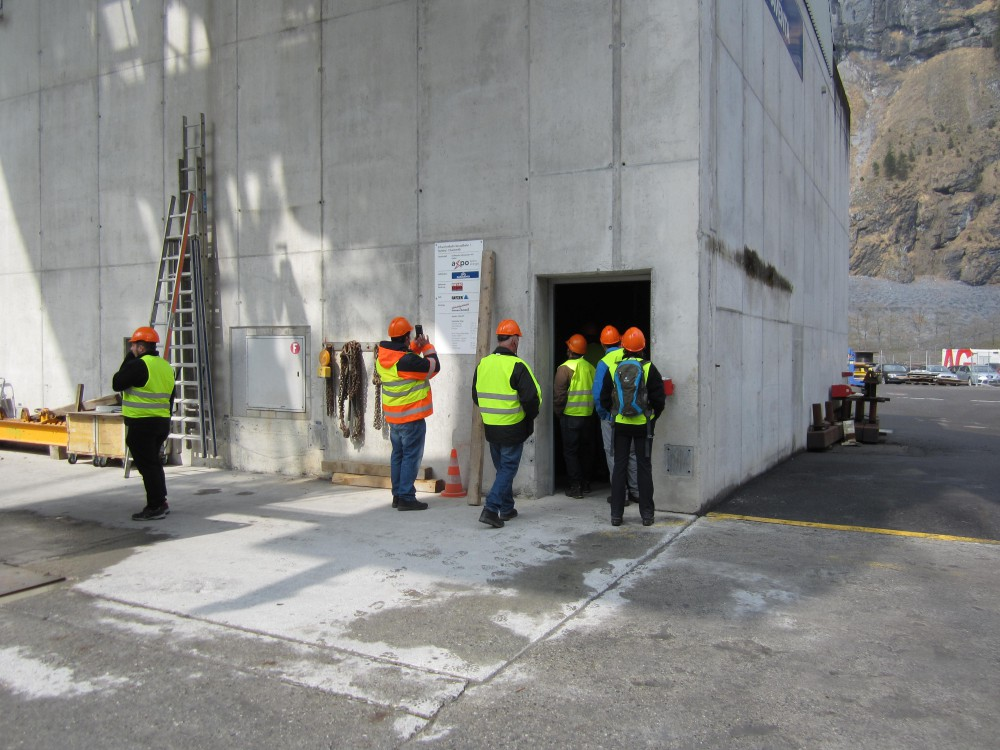 Besuch Grossprojekt Pumpspeicherwerk Linth-Limmern : 6. April 2017