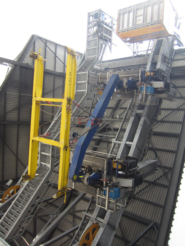 Besuch Grossprojekt Pumpspeicherwerk Linth-Limmern am: 3. Mai 2017